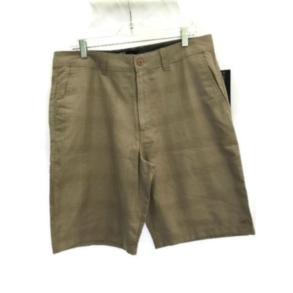 "O/'Neill Boys Delta Plaids /& Checks 18/"" Casual Chino Shorts Sz 26"